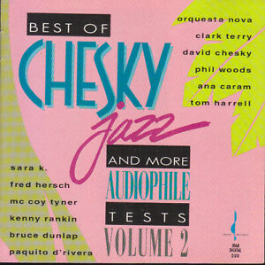 Various-USA-1992-Best-Of-Chesky-Jazz-and-More-Audiophile-Tests-Vol-2-CD