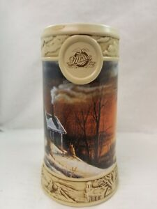 "Miller Ducks Unlimited Terry Redlin Beer Stein Lot Of 3-7"" Collectible Mugs"