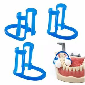 100Pcs-Dental-Cotton-Roll-Holder-EASYINSMILE-Disposable-Blue-Teeth-Cilp-Holders