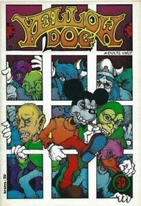 YELLOW-DOG-COMICS-18-1970-PRINT-MINT-GREG-IRONS