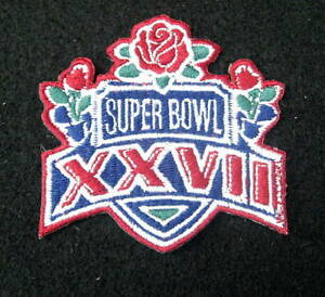 SUPER-BOWL-XXVII-DALLAS-COWBOYS-1993-BUFFALO-BILLS-PATCH-ROSE-BOWL-2-7-8-x-2-1-2