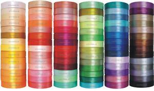 91m-32m-Satinband-3-6-12-25-38-50mm-0-02-m-SCHLEIFENBAND-Dekoband-breite-Band