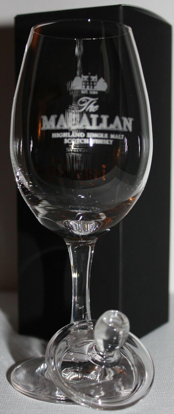 GLENCAIRN SCOTCH WHISKY COPITA NOSING GLASS WITH GINGER JAR TOP
