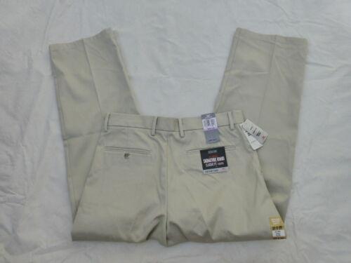 Neuf avec étiquettes pour homme DOCKERS CLASSIC FIT Signature Khaki Pants 58 40849-0015 $ Light Khaki