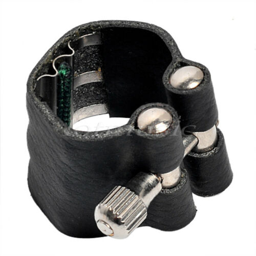 2 Pcs  Ligature for Alto Saxophone Mouthpiece Fastener