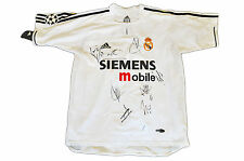 REAL MADRID JERSEY SQUAD GENUINE HAND SIGNED RAUL CASILLAS SHIRT + PHOTO PROOF