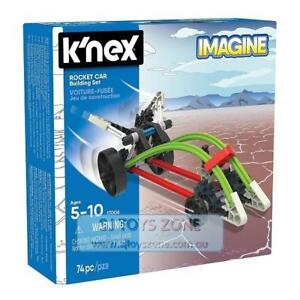 K'Nex Starter Vehicle Building Set 74 Pcs Construction Toy for Kids - Rocket Car