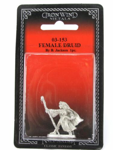 Female Druid #03-153 Classic Ral Partha Fantasy RPG Metal Figure