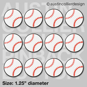 12-BASEBALL-1-25-034-pinback-buttons-badges-team-gift-pins-USA-pin-back