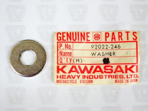 Kawasaki NOS NEW 92022-246 Plain Washer 10mm H1 H2 S3 EL KH VN ZL ZR ZX