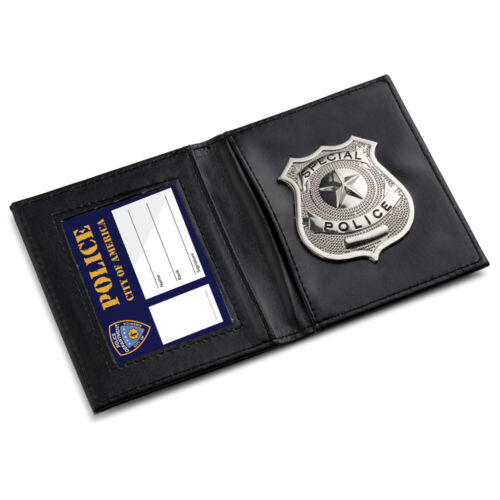 One Size Dress Up America Kids Pretend Play Police ID Wallet