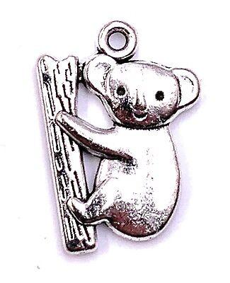 Koala Jésus Arbre Ours Charm Pendentif pour Collier Bastelbedarf Bijoux