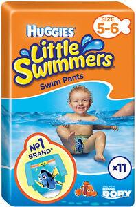 Huggies Little Swimmers Size 5-6 Medium 11 Swimmers