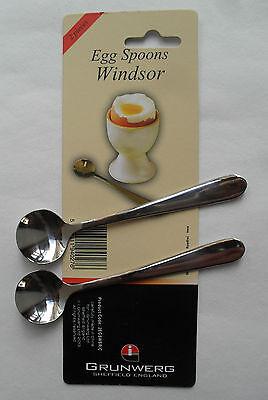 Grunwerg Windsor Grapefruit Spoons Stainless Steel Pack x 4 FREE P/&P