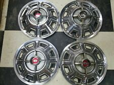 1966 Ford Fairlane Hubcaps Wheel Cover 14 Set Of 4 Vintage Hot Rod