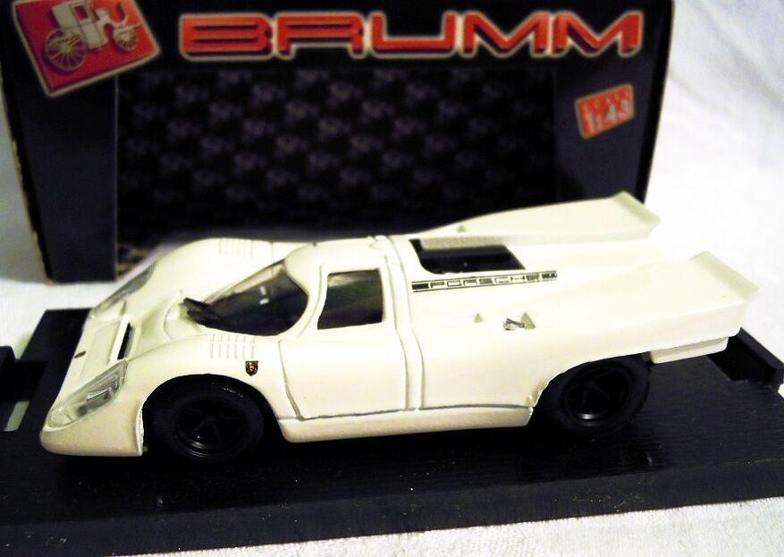 BRUMM R217  Porsche 917, Predotyp 1970, white, 1 43, NEU & OVP