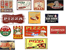 ho scale pizza decals/diorama pizzeria