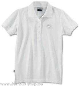 VW-Damen-Polo-Shirt-Poloshirt-Weiss-Groesse-S-NEU-amp-OVP
