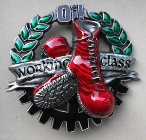 Working-Class-Boots-buckle-Guertelschliesse-aus-Metall