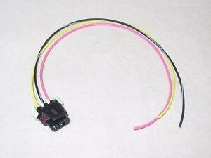 LS1 LT1 GM 3 Wire MAF Mass Air Flow Sensor Wiring Connector Pigtail LT4 Vortec