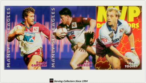 1997 Dynamic Rugby League Fatty Fun Pack Base Team setMANLY SEA EAGLES7