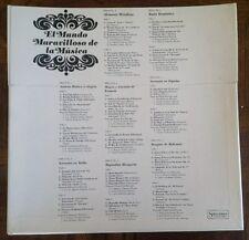 """8 RECORDS BOX """"EL MUNDO MARAVILLOSO DE LA MUSICA""""  RCA / READER'S DIGEST MMM-201"""