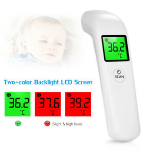 Digital-Non-Contact-Forehead-Thermometer-Adult-Baby-IR-Infrared-Temperature-Gun