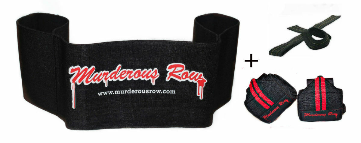 MURDEROUS ROW Bench  Press Sling Shot (XL) SET - powerlifting titan mark bell  the newest