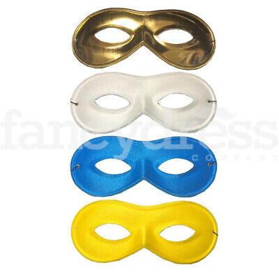 Halloween Eye Mask Fancy Dress Bandit Robber Zorro Masked Ball Super Hero Mask