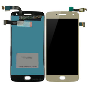 2 Color For Motorola Moto G5 Plus Xt1686 Lcd Display Screen Touch Digitizer Mobile Phone Adapters Cellphones & Telecommunications