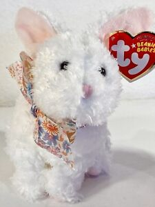 TY NIBBLE the BUNNY BEANIE BABY with TAG