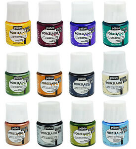 Pebeo-PORCELAINE-150-Permanent-Porcelain-Ceramic-China-Paint-45ml-60-Colours