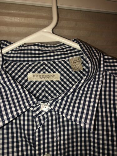 burberry button up shirt