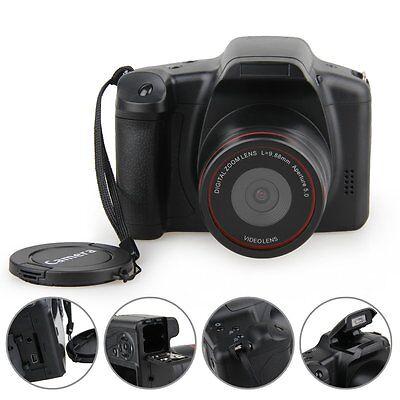 """D200 2.8"""" TFT LCD HD 720P 12MP Digital SLR DV Camcorder Camera 4x Zoom SD USB AV"""