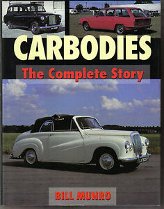 Carbodies-Complete-Story-1919-97-FX3-FX4-London-Taxi-BSA-Crouch-Alvis-MG-Rootes
