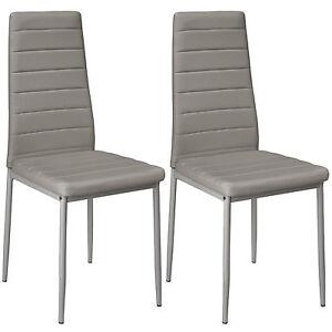 2x Sillas de comedor Juego elegantes sillas de diseño modernas ...