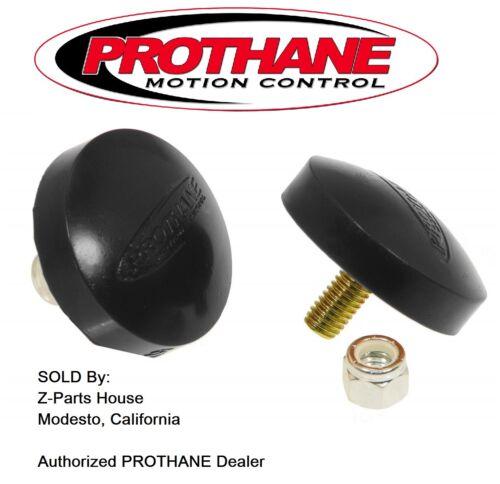 """by PROTHANE  19-1316-BL Button Polyurethane Bump Stop Set 11//16/"""" x 2/"""""""