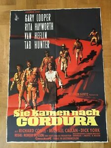 Sie-kamen-nach-Cordura-Kinoplakat-039-59-Gary-Cooper-Rita-Hayworth-Van-Heflin