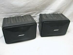 Pr Bose 101 Music Monitor Speakers With Bracket Ebay