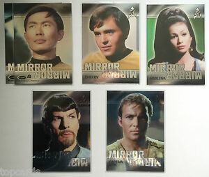 STAR-TREK-TOS-50th-ANNIVERSARY-Mirror-Mirror-Heroes-Complete-Your-Set