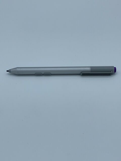 Genuine Microsoft Surface Pen Stylus Silver Bluetooth - For Pro 3 4 5 6 Go Book