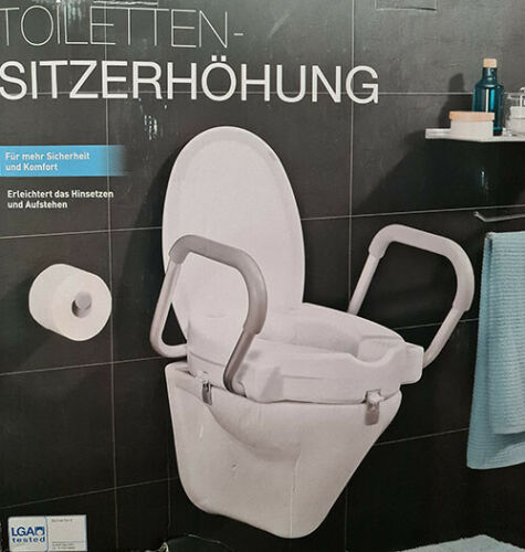 Toilet Seat increase WC Toilet Seat increase Seat increase Toilet Armrest