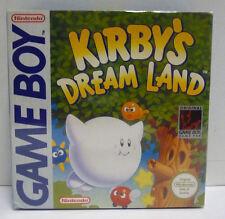 KIRBY'S DREAM LAND - NINTENDO GAME BOY GB PAL UK REGION FREE BOXED