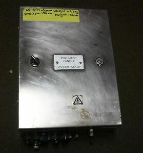 Stainless-Steel-Switch-Board-Enclosure-with-Pneumatic-Valve-Bank