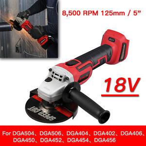 Per-Makita-DGA456-18v-125mm-LXT-Cordless-Smerigliatrice-angolare-solo-corpo-New-BARE-Strumento