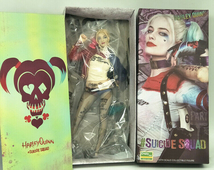 1 6TH Crazy Toys DC Suicide Squad Movie Harley Quinn Quinn Quinn Collection 12  Figures 52276e