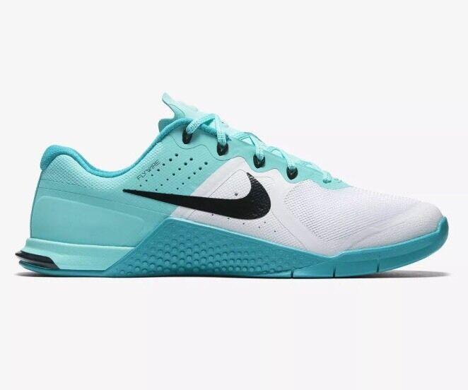 Nike metcon 2 VERDE/BIANCO Crossfit Scarpe Da Ginnastica Misura 2.5 NUOVO Regno Unito da donna. NUOVO 2.5 392c39