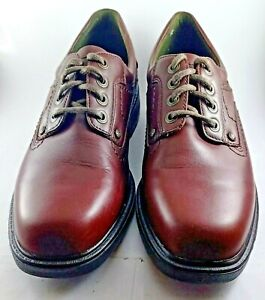 Mens-Slatters-Brown-Leather-Comfort-Smart-Non-Slip-shoes-Size-10