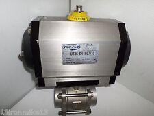 New Tru Flo Ut36 Sr4f0710 Pneumatic Actuator 2 Cf8m Weld Socket 1000wog Qsm