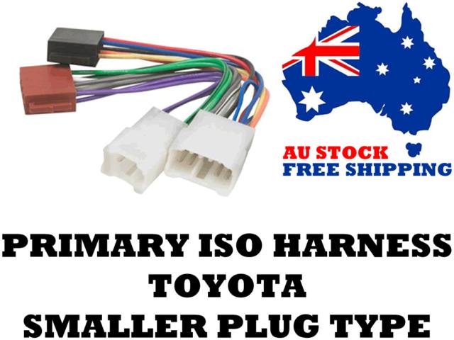 Aerpro APP0141 Primary ISO Harness Suit Toyota Smaller Plugs Models